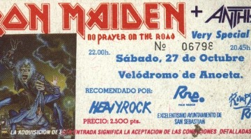 Iron Miden + Anthrax